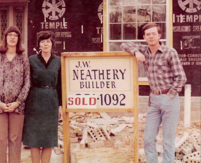 From left: Lynn Neathery, Dot Neathery, J.W. Neathery III